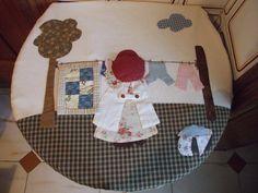 Mi pequeño mundo Patchwork: Cesto de ropa