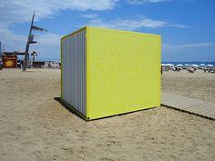 lavabos publicos playa barcelona - Buscar con Google