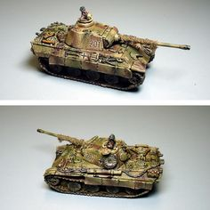 12. SS Panther Commander #2 Flames of War, 15mm