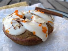 Carrot donuts - w/coconut flour