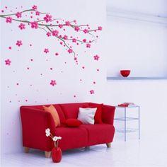 Paredes decoradas Creative Decor, My Style, Home Decor, Decoration, Creativity, Diy Creative Ideas, Decorating Ideas, Red Sofa, Creative Walls
