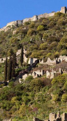 Medieval City Of Mystras (Peloponnese), Greece