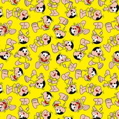 Tecido Patchwork Fabricart Turma Mônica Magali 9720   ArmarinhoSãoJosé #artesanato #costuracriativa Classic Cartoons, Disney Wallpaper, Pop Culture, Snoopy, Scrapbook, Pattern, Bullet Journal, Classroom, Watermelon Birthday Parties