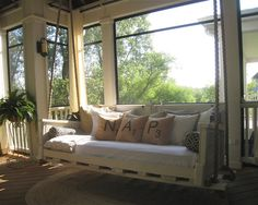 Hanging Beds Design, Pictures, Remodel, Decor and Ideas - page 8