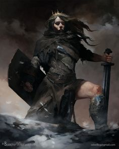 Shield Maiden  Artist's name:              Igor Sid    Artist's country:               Russia