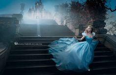 Annie Leibovitz Scarlett Johansson as Cinderella
