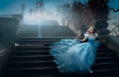 Annie Liebovitz , Disney Dream Portrait Series, Scarlett Johansson.