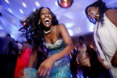 Barringer High School students celebrate their 2014 senior #prom