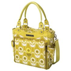 Petunia Pickle Bottom Spring 2013 Diaper Bag City Carryall Sunlit Stockholm