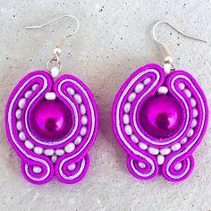 Handmade ZuzDesign Náušnice Dolly http://femmefashion.sk/zuz-design/2369-nausnice-dolly.html