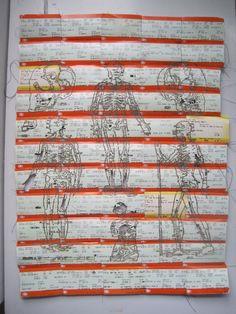 Trendy gcse art sketchbook my surroundings Collage, Kansas, A Level Textiles, Art Connection, Gcse Art Sketchbook, Ticket Design, Train Art, Pin On, Train Tickets