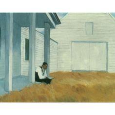 """Cape Cod Barn,"" Edward Hopper, ca. 1939, oil on canvas, 17 x 22"", Memphis Brooks Museum of Art."