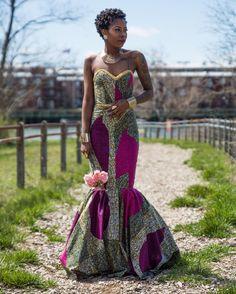 #tbt African Bridal @kira_nacole X @shyneblaze