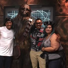 Had a great day celebrating my Birthday with these guys yesterday! Thanks again for a fun birthday!  #disneyland#starwars#chewbacca#theforce#family#bestfriends#fluffy#fun#disneyparks by skem.93