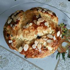 Mazanec - easter czech sweet bread