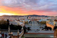 Vista da #MNAC #Barcellona #PlazaEspanya