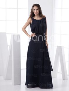 In Another color: http://www.milanoo.com/Casual-Floor-Length-Pleated-Satin-Evening-Dress-p17279.html