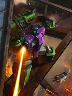 Constructicons Leader Scrapper Artwork From Transformers Legends Game