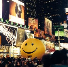 Guerrilla Marketing - Jamaica Tourism's Giant Stress Ball in Times Square Helps New Yorkers Relax | Adweek