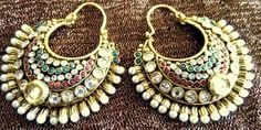 Amrapali Jewellery, Jewellery Box, Jewelery, Ethnic Chic, India Jewelry, Indian Bridal, Clothing Ideas, Bridal Jewelry, Crochet Earrings