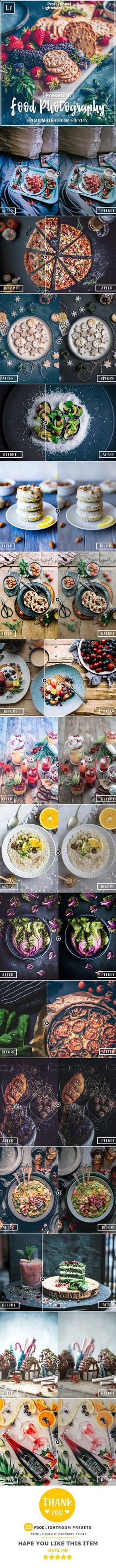 25 Food Collection Lightroom Presets — LRTemplate #retouching #photographer Lightroom Presets Wedding, Professional Lightroom Presets, Black And White Landscape, Tumblr, Photo Effects, Photoshop Tutorial, Photography Tips, Photo Editing, Graphic Design