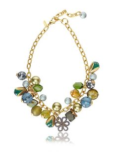 Lenora Dame Classic Charm Necklace, Blue at MYHABIT