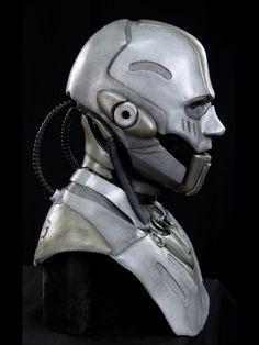 robot woman face - Google Search
