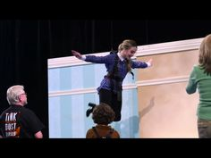 2015 Sabrina Carpenter flying on wire as Wendy in Peter Pan and Tinker Bell, Christmas
