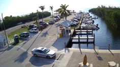 Pineland Marina Live Webcam in Bokeelia, Florida.