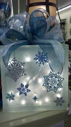 krafty block christmas craft -