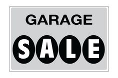 Printable Garage Sale Signs