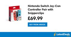 Nintendo Switch Joy-Con Controller Pair with Snipperclips, £69.99 at Argos