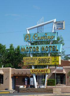 El Camino Motor Hotel, Route 66 - Albuquerque, New Mexico