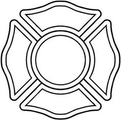 28 Fire Department Maltese Cross Coloring Page Firefighter Logo, Firefighter Crafts, Volunteer Firefighter, Cross Coloring Page, Coloring Pages, Fireman Quilt, Truck Window Stickers, Maltese Cross, Fire Department