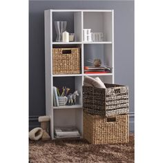 Storage Unit 8 Cube (already purchased)  Currently used for TV stand/book/cd/dvd storage Potentially used for beside make up vanity to store fragrance/other bits & bobs