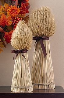 Decorative Harvest Wheat Bundles For Fall Entertaining Fall Crafts, Diy And Crafts, Vase Deco, Home Decor Catalogs, Deco Nature, Fall Decor, Holiday Decor, Holiday Parties, Collections Etc