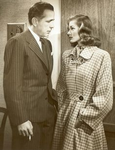 Lauren Bacall & H. Bogart