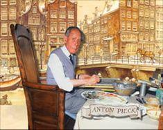 Dutch illustrator Anton Pieck