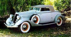 1934 Studebaker President Convertible Roadster....