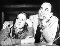 Liv Ullman & Ingmar Bergman...A match made in cinema heaven...:):):):););)