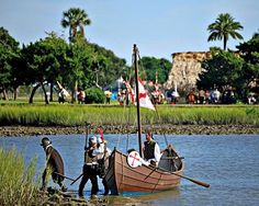 St. Augustine Celebrates Menendez Landing, founding of first successful American colony - slideshow PT 1:  http://www.examiner.com/slideshow/st-augustine-founder-s-day-slideshow-part-1-mission-nombre-de-dios-mass-and-menendez-landing  Slideshow Part 2: http://www.examiner.com/article/fountain-of-youth-greets-menendez-reenacts-colony-s-first-meal-of-thanksgiving?cid=db_articles