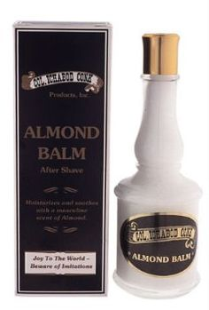 Moisturize and sooth your skin after you shave with Colonel Conk Almond Aftershave.Pamper yourself with this luxurious after shave balm leaves a masculine scent of almond.  Details: -4-oz bottle. -Creamy consistency after shave.  For all your barber and beauty needs come give us a visit!  alamobarber.com alamobeauty.com or give us a call at  (210)824-1541