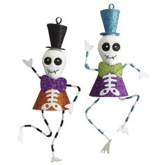 Dancing Skeleton Ornaments from Pier1