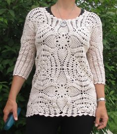 Ravelry: egerchte's Victorian squares tunic