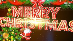 Merry Christmas 2017, Wishes,Whatsapp Video Download,Greetings,Animation...