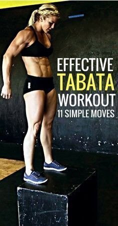Get fit and lean fast - 11 simple tabata exercises for a full body workout