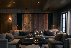 〚 Charm of Norwegian cottage 〛 ◾ Photos ◾Ideas◾ Design Interior And Exterior, Interior Design, Colorado Homes, Cinema Room, World Of Interiors, Restaurant Design, My Dream Home, Ideal Home, Living Spaces