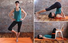 Learn this yoga routine that will help reverse a day's worth of standing on your feet: