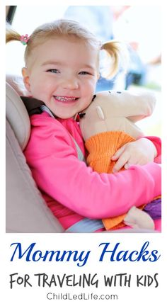 We love to travel! These are great tips on ChildLedLife.com