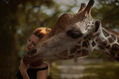 17 Magical Photographs of Real Animals Posing with Astonishing Women. We're Particularly Impressed with the Last One. - MOGUL